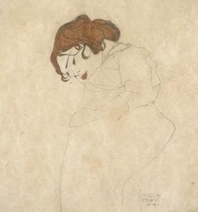 La jeune fille endormie, Egone Schiele-