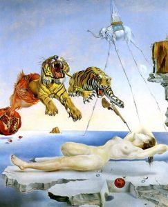 Salvador Dali, Rêve causé par le vol dune abeille
