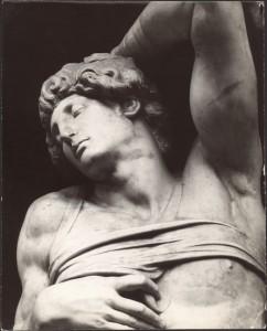 Psychothérapie pour se libérer de ses entraves Michel-Ange, esclave, Louvre, Paris