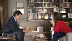 homme assis face à son psychothérapeute en psychothérapie psyychodynamique